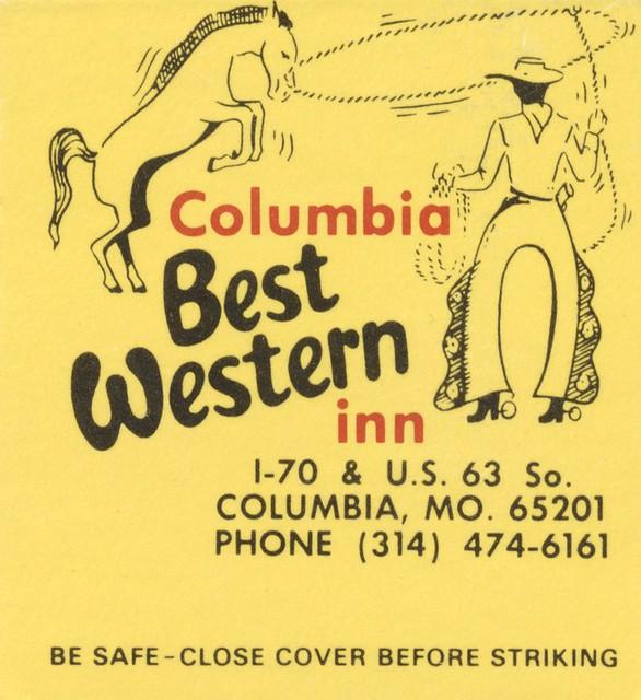 Columbia Best Western Inn - Columbia, Missouri