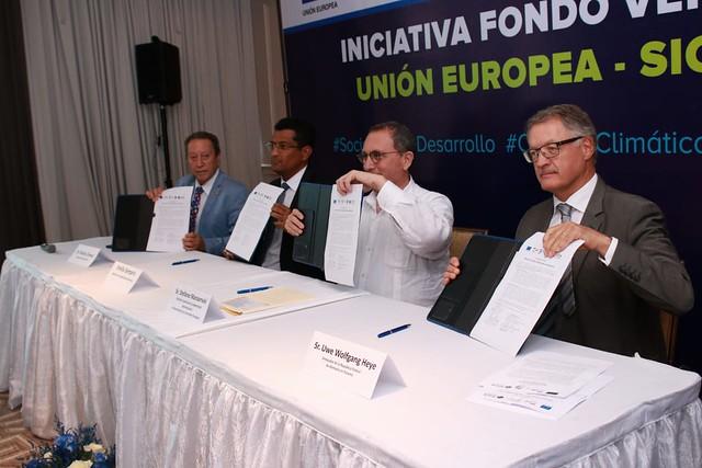 Lanzamiento de la Iniciativa Fondo Verde en países SICA