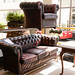 3+1 chesterfield wine leather E350