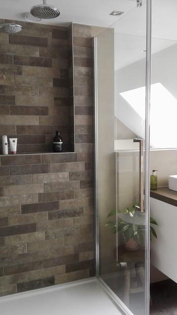 Nisje badkamer landelijk