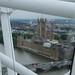 desde el ojo de Londres, vigilando las obras