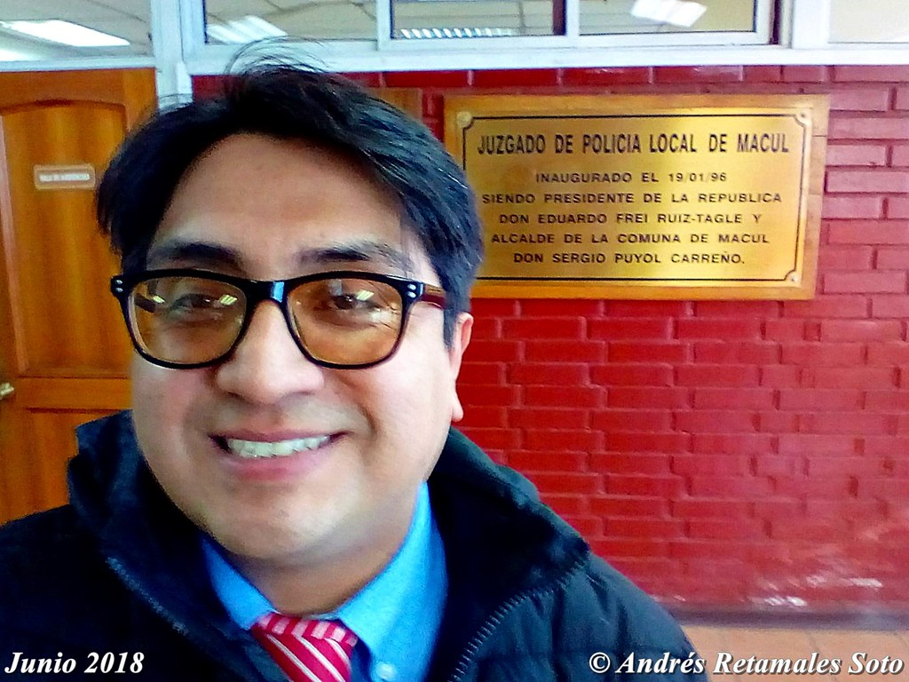 Juzgado de Policía Local de Macul, abogado Andrés Retamales, junio 2018