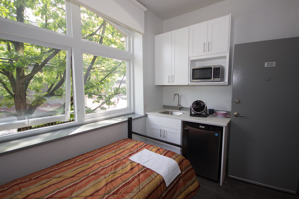 The Government of British Columbia is working with the City of Vancouver to move people living at the Regent Hotel into safer, more secure accommodations.