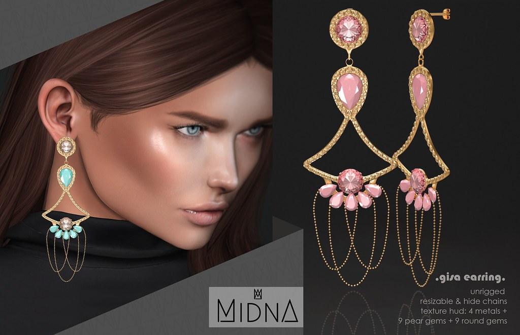 Midna – Earring Gisa