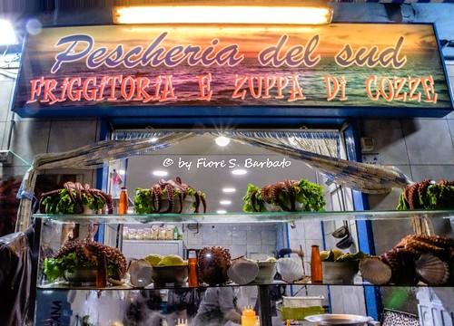 Acerra (NA), 2018, La tradizionale zuppa di cozze il venerdì e il giovedì Santo.