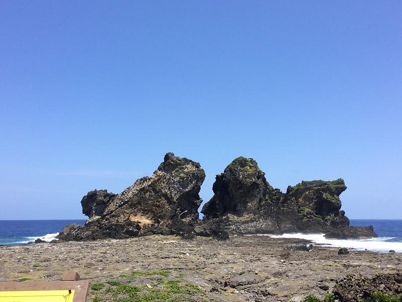 蘭嶼-雙獅岩