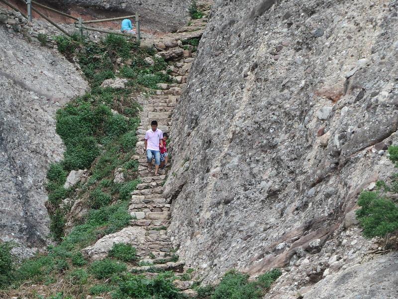 Escales de pedra de MontserratIMG_1252