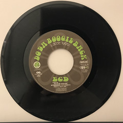 ECD:DO THE BOOGIE BACK(RECORD SIDE-A)