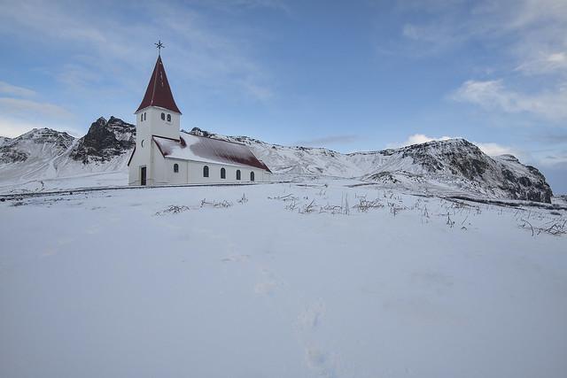 Vik Church, Iceland