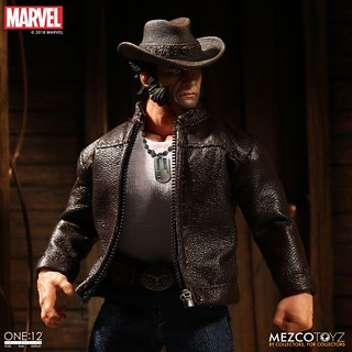 以年輕姿態再登場!! MEZCO ONE:12 COLLECTIVE 系列 Marvel Comics【羅根】Logan 1/12 比例人偶作品