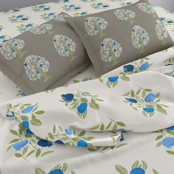 English cottage style premium quality cotton bed sheet from Spaces