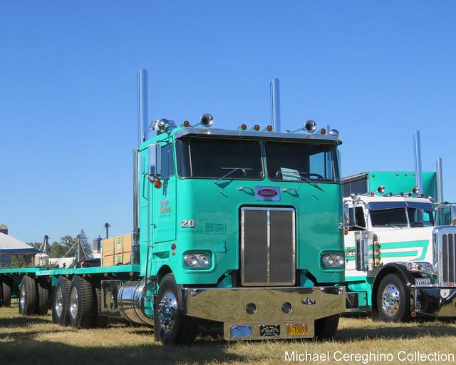 George Van Dyke Trucking 1977 Peterbilt 352-H, Truck# 20