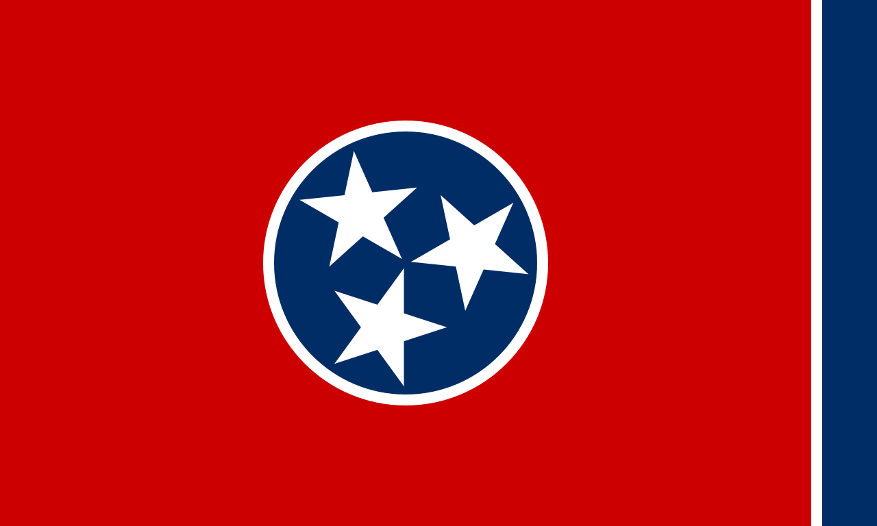 State flag of Tennessee, 1905-date