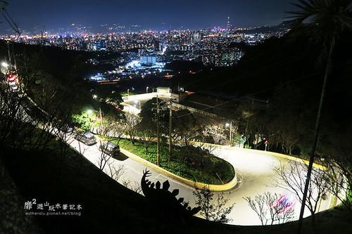 夜景-北台灣晚間約會的好地方:中和烘爐地夜景