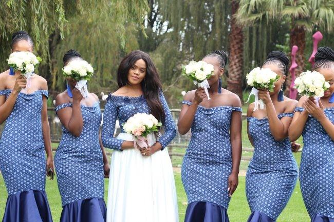 Classic Wedding Gown Designs: Styles 7 - Shweshwe Dresses