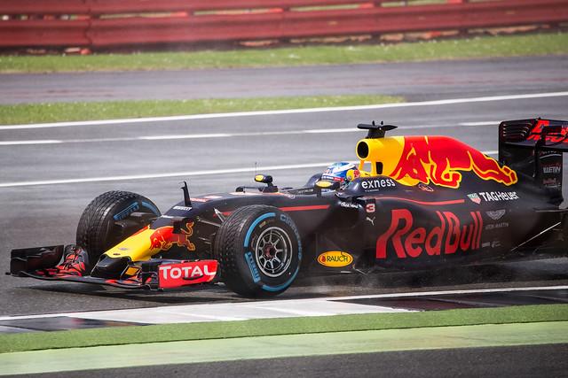 Daniel Ricciardo 2016 British GP