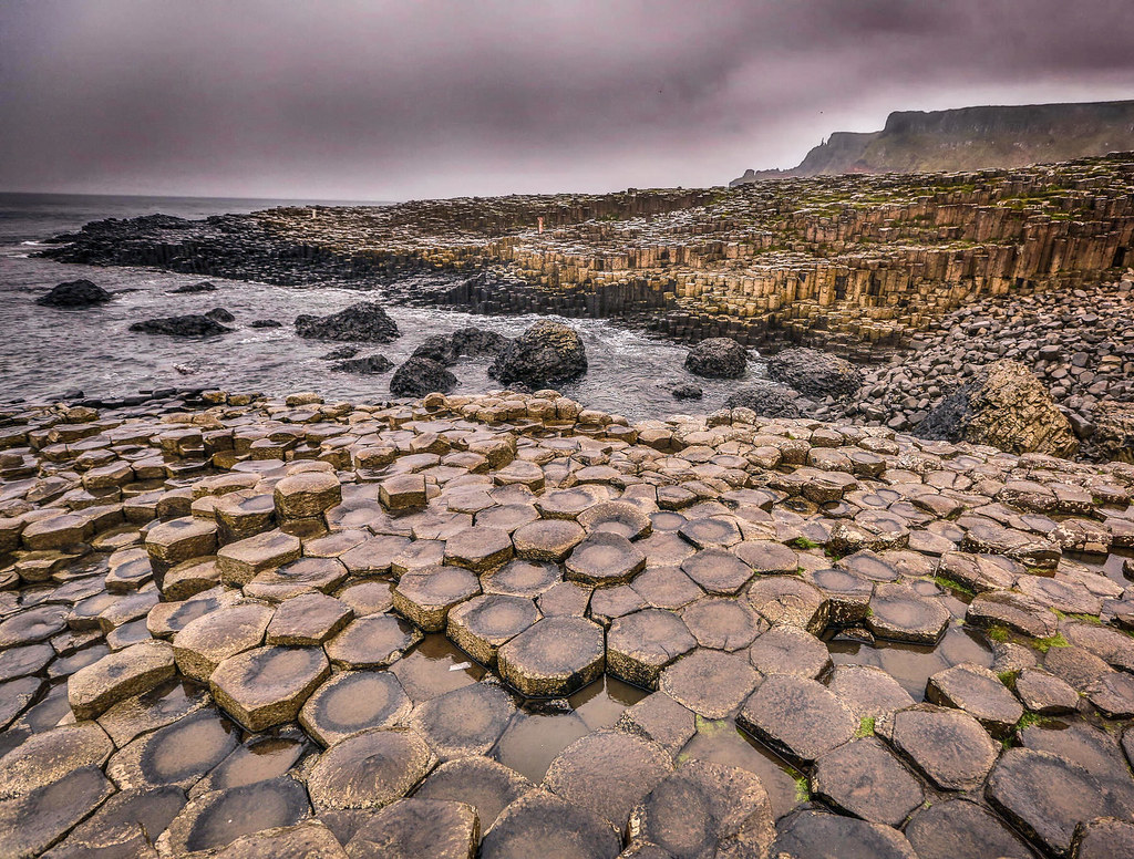 Giant's Causeway, County Antrim, Northern Ireland. Credit Tony Webster