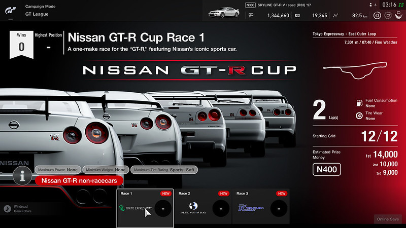 Nissan GT-R Cup (Beginner League)