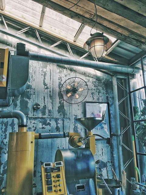 【文山區/木柵站】Ruins Coffee Roaster- 廢墟咖啡 粗獷工業風