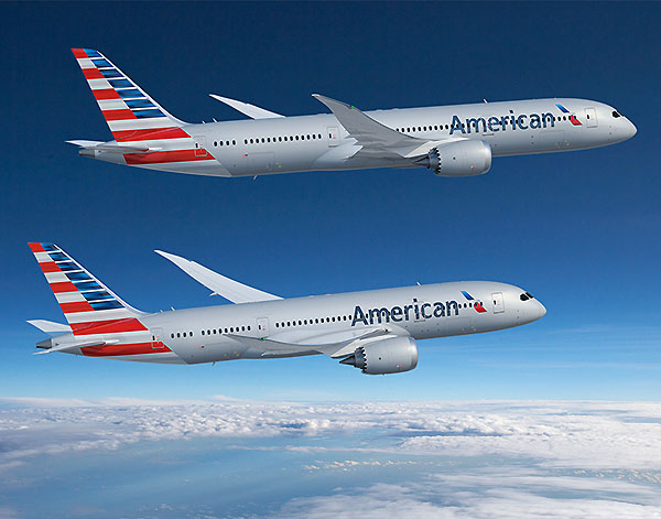 Boeing  American Airlines 787 Dreamliners