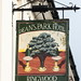 Deans Park Hotel pub sign Southampton Hampshire UK