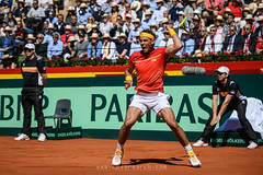 Cuartos de final Copa Davis by BNP Paribas - Rafa Nadal power
