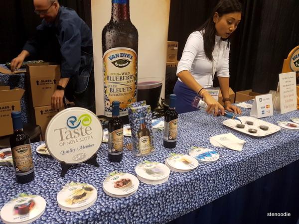Van Dyk's Pure Wild Blueberry Juice