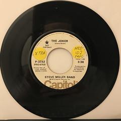 STEVE MILLER BAND:THE JOKER(RECORD SIDE-A)