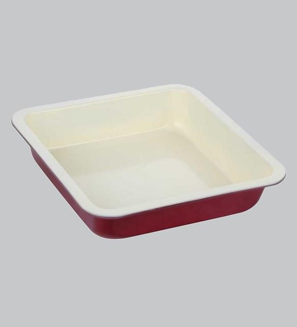 steel baking dish