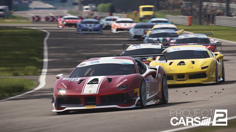 Project CARS 2 Ferrari 488 Challenge 2