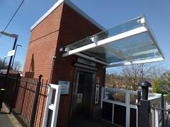 Northfield Station - lift