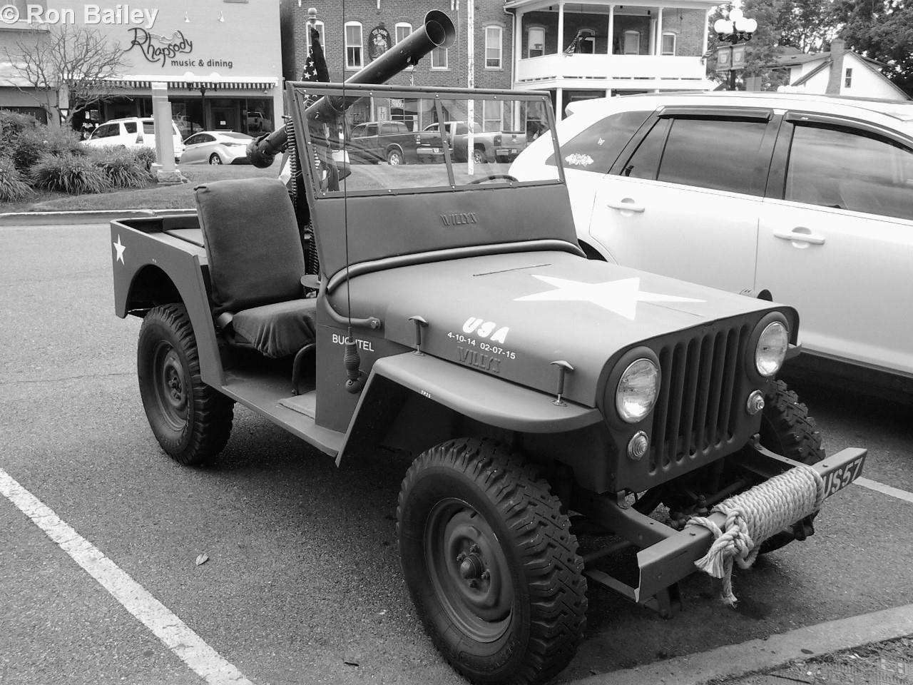 Vintage Jeep.