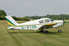 G-ATOK Piper PA28-140 (28-21612) Popham 080608