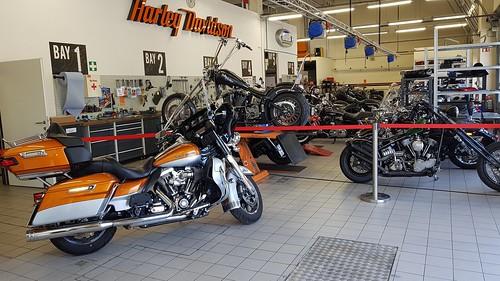 Harley Davidson Workshop