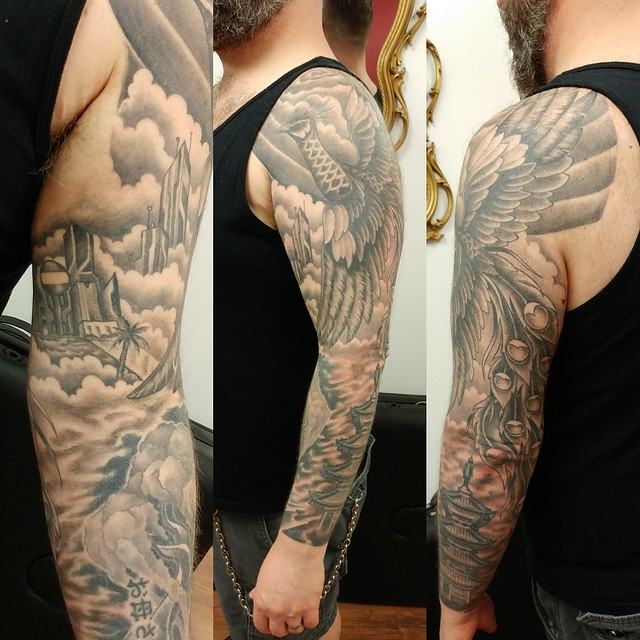 My amazing sleeve by Jimmy Walters