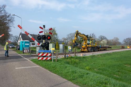 Varsseveld-Terborg vervanging spoorstaven 1