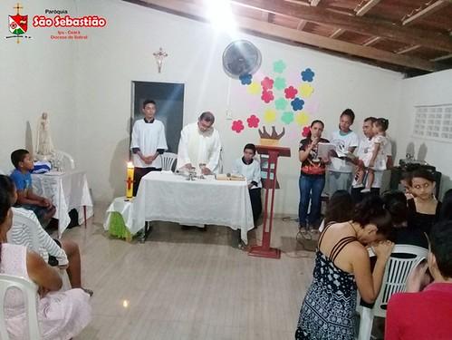 Missa nas comunidades de Alegria , Mato Grosso e Olho D'água dos Facundosv
