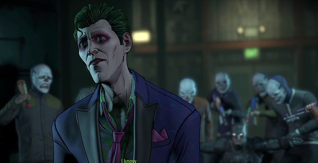 Batman The Enemy Within Episode 5 - Joker Ruminates On Harley