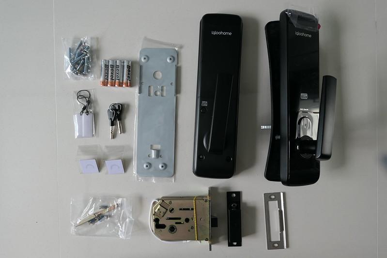 igloohome Smart Mortise Lock - Box Contents
