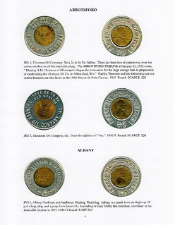 Encased Coins of Wisconsin book sample page1