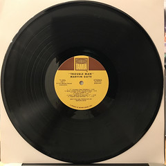 MARVIN GAYE:TROUBLE MAN(RECORD SIDE-B)