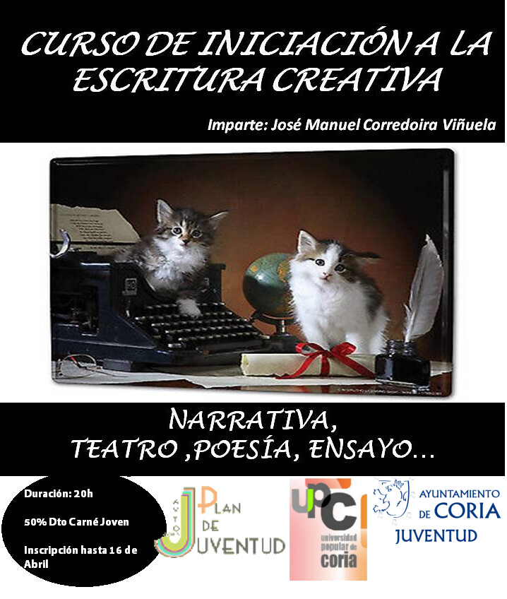 Cursos y actividades en primavera de la Universidad Popular de Coria