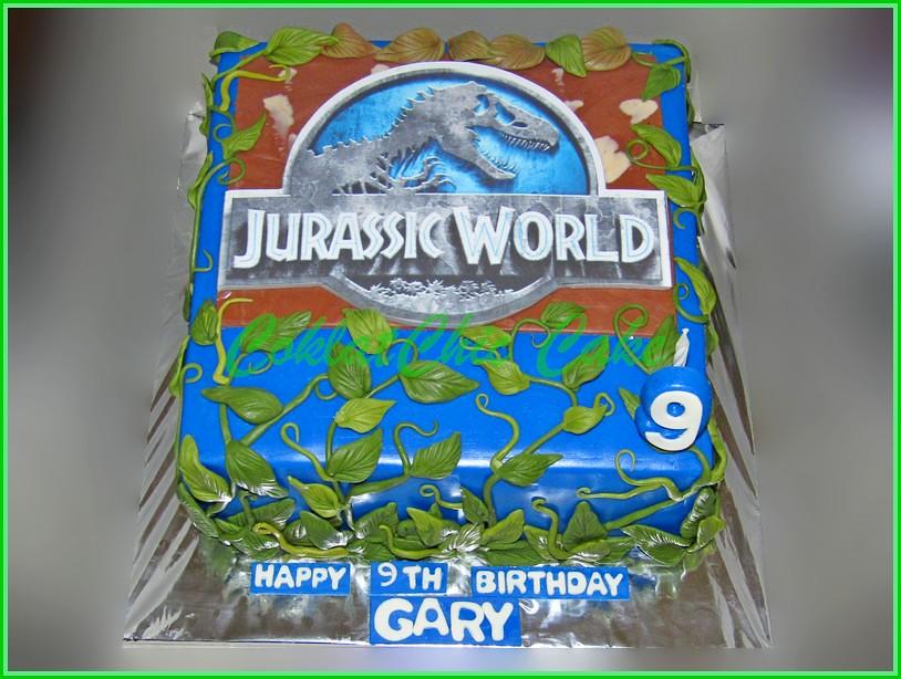 Cake Jurassic World GARY 20 cm