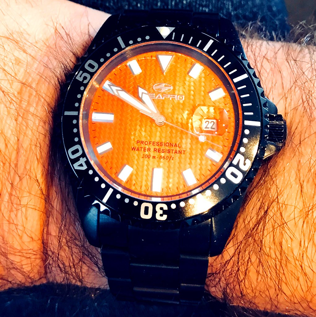 SeaPro divers watch automatic