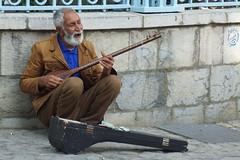 street musician Tehran