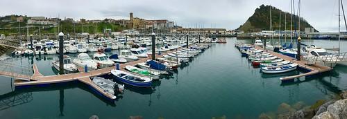 Dando un paseo por el puerto de Getaria