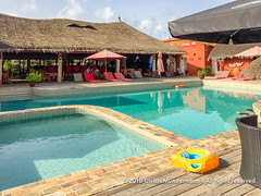 The swimming pool, Hotel Pure Plage, Lomé, Togo