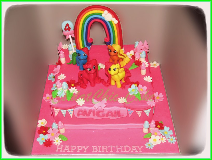Cake My Little Pony AVIGAIL 20 cm