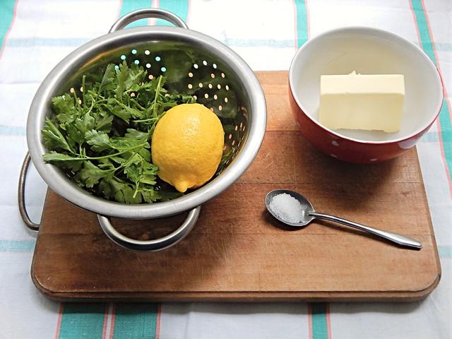 Масло зелёное с петрушкой и лимоном по рецепту из Книги о вкусной и здоровой пище, пошаговый фоторецепт | HoroshoGromko.ru