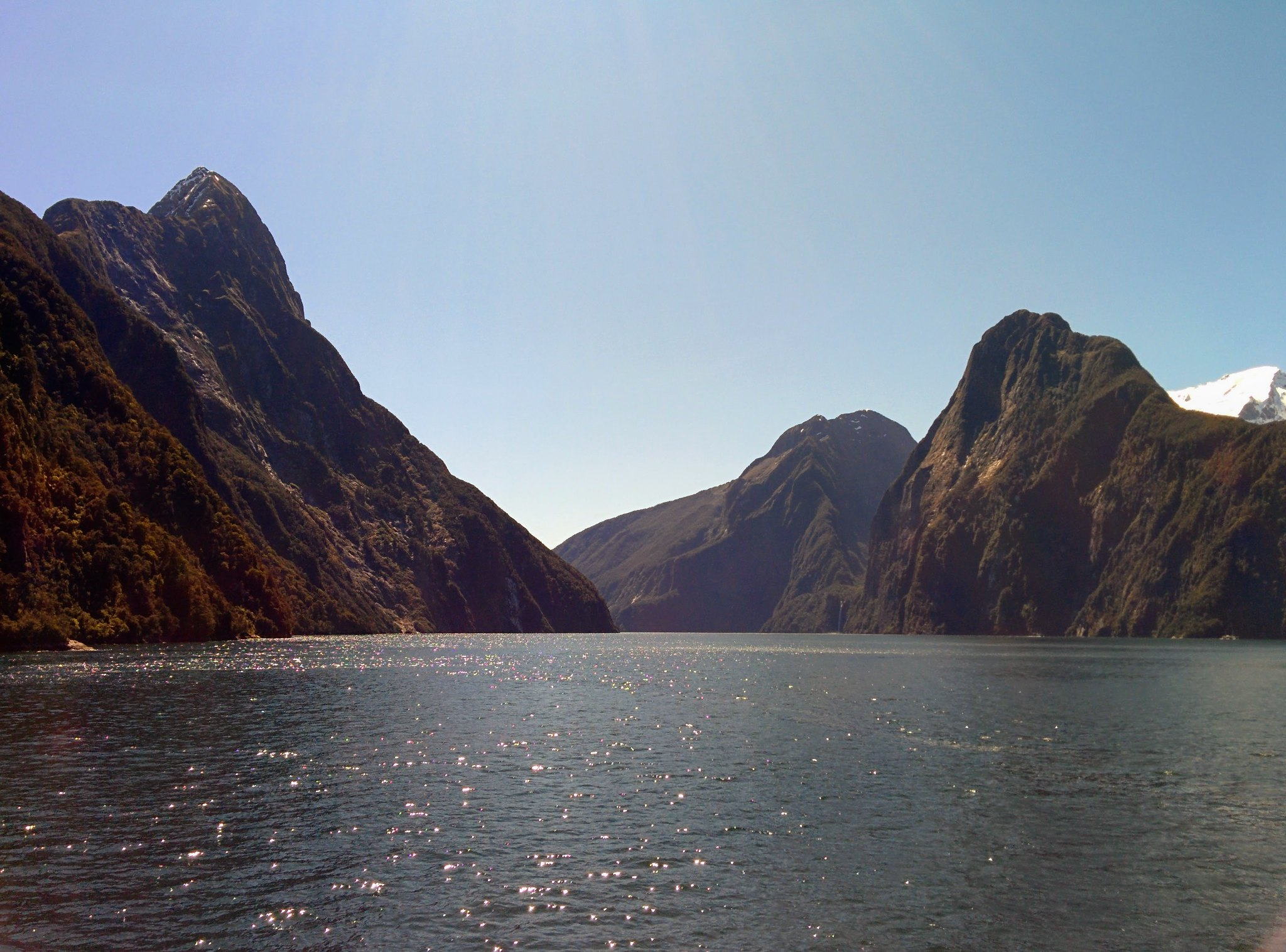 Milford Sound from the ferry